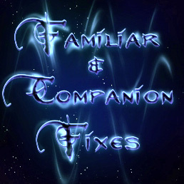 Familiar and Companion Fixes