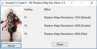 HD Shadow Map Resolution Mod