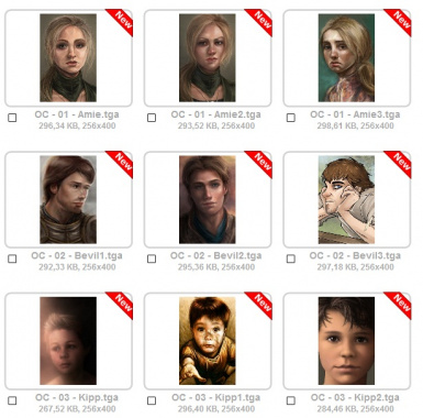 256X400 Complete Portraits (ALL CAMPAIGNS)