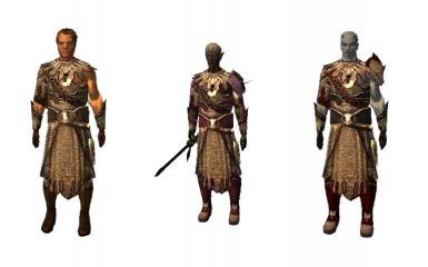 Vampire Armour for Players