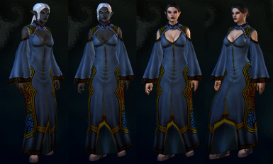 Sorceress Robe Replacer