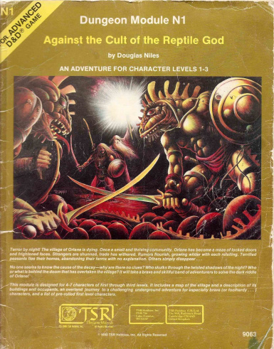Against the Cult of the Reptile God - The Crystalmist Campaign chapter 1