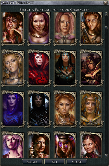 NWN1-sized Baldurs Gate Portraits for NWN2