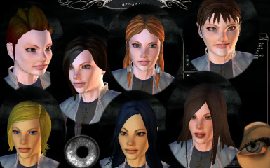 Human Female Character Generation