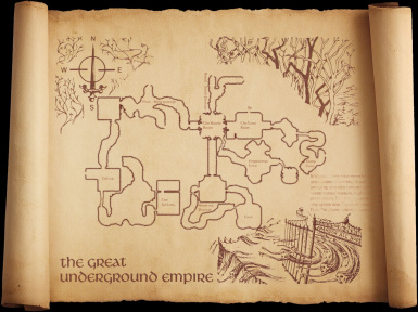 A section of the Great Underground Empire