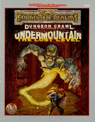 UNDERMOUNTAIN- The Lost Level