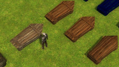 Tintable coffins