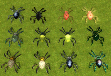 Wraith spiders variations