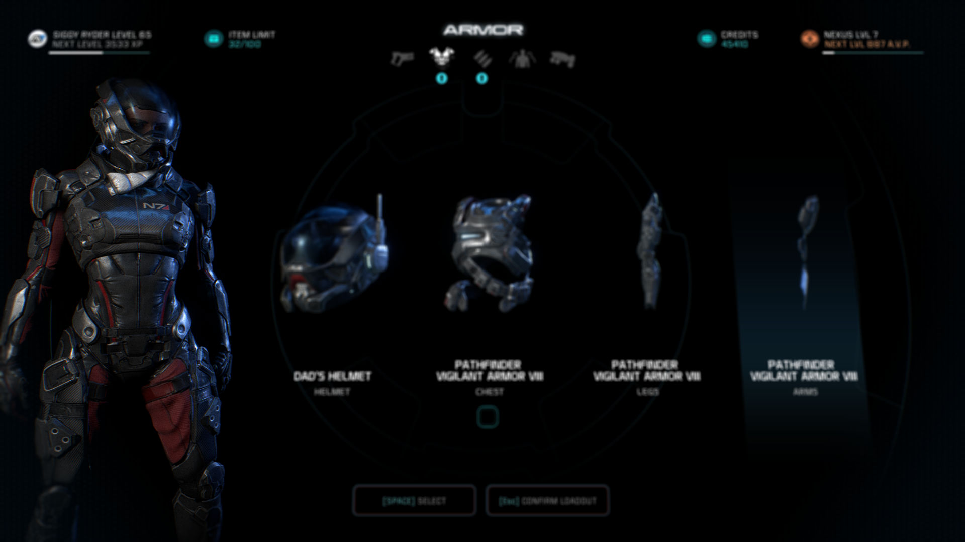 Armor And Helmet Swaps At Mass Effect Andromeda Nexus Mods And