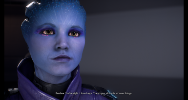 Peebee face model