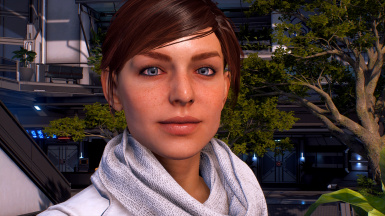 Ryder with mod applied and default eyes