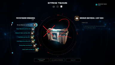 Double Strike Team Loot and other things