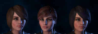Without freckles variants