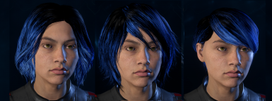 Hair overhaul - tweaks and ombre
