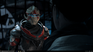 etra Black and Red Alternative _ Vetra Red Face Marking