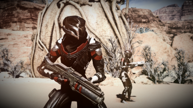Vetra rocking the red and black