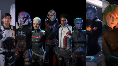 Various Squadmate and NPC Outfit Recolours