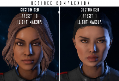 Femshepping's Female Complexion Compendium at Mass Effect