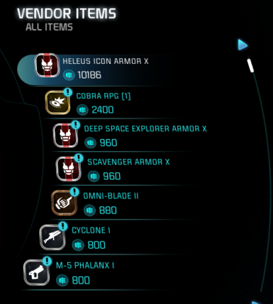 Tempest Store - Extended