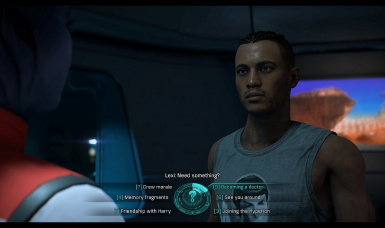In Cutscenes Male Ryder