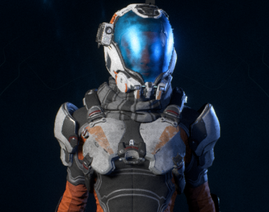 Grey Scarf for Scavenger Armour