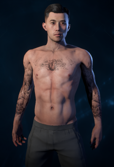 Ryder and Cora Tattoo Mod