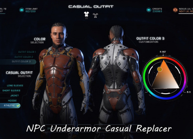 Tintable - NPC Underarmor Casual Replacer All Variants Male