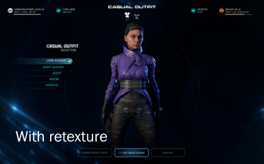 Peebee Outfit With Retex