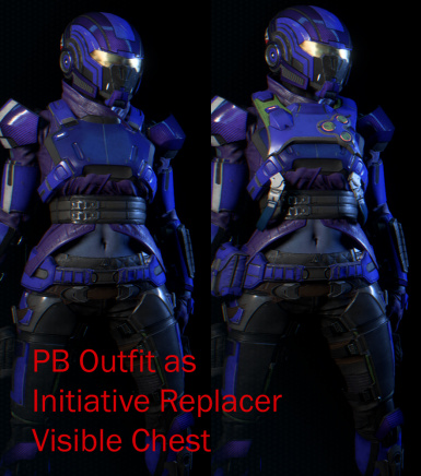 PB Outfit as Initiative Replacer Visible Chest