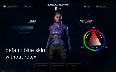 Blue Skin Issue