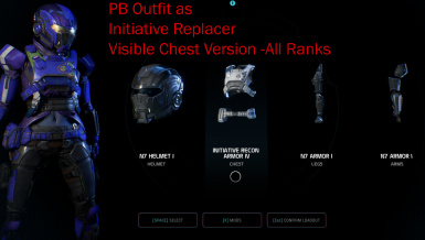 PB Outfit as Initiative Replacer Visible Chest Loadout