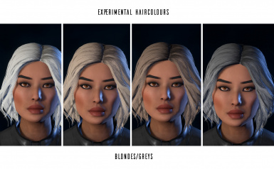 Femshepping's Hair Colour Edits