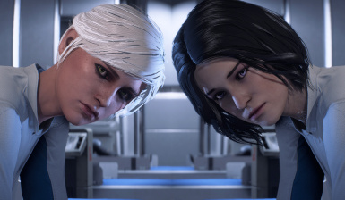 Yennefer and Ciri