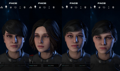 head presets with new texture