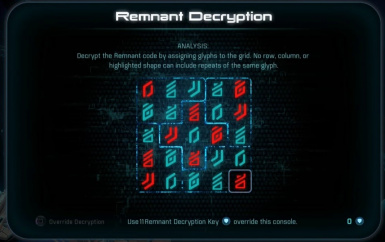 Remnant Decryption Key Limit Increase