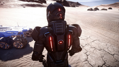 N7 Armor Mass Effect Andromeda: Red Lights At Mass Effect Andromeda Nexus