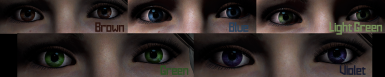Eye Colors for Cora