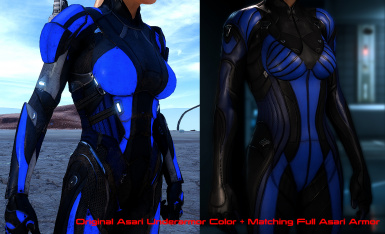 Asari Full Armor Recolor Request