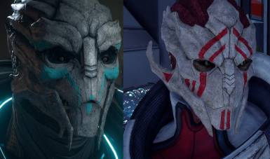 Turian Makeover