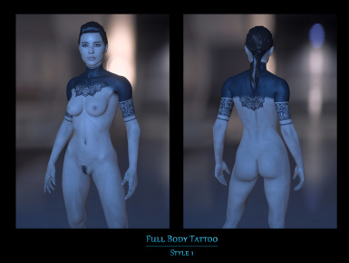 Full Body Tattoo Mod for all female Ryders