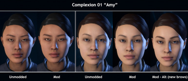 Complexion 1 - Amy