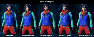 Casual Outfit Edits - Tint Tweaks and Retextures
