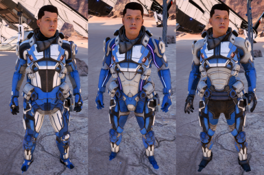 EbenHawke's Armor Swap for Squad and Ryder