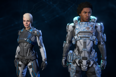 Cora and Liam Initiative Armor Archive