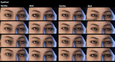 Fia's Makeup Overhaul (WIP - currently for female preset 5 only)