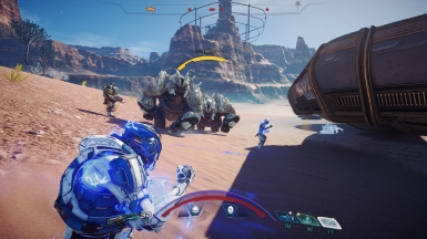 Annihilation Stays During Charge at Mass Effect Andromeda Nexus