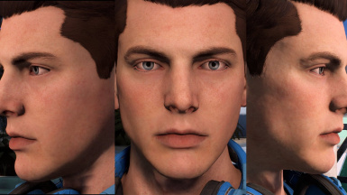 Shaved Scott Ryder
