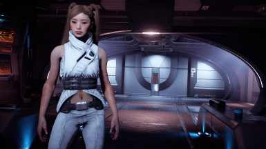 Peebee mashup outfit - athletic replacer