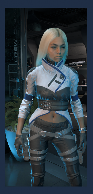Peebees Outfit Casual and Armor Swaps for Ryder at Mass