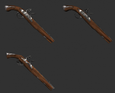 Flintlock Weapon lods